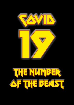 Covid-19 number of the beast