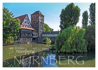 Nuremberg old town bridge