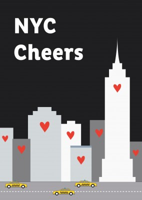 #clapbecausewecare NYC CHEERS