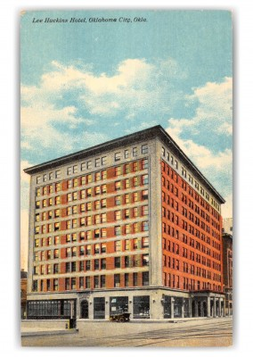 Oklahoma City, Oklahoma, Lee Huckins Hotel