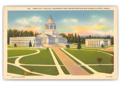 Olympia, Washington, Temple of Justice, Insurance and Administration building