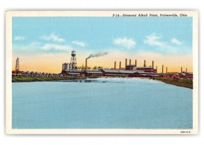 Painesville, ohio, Diamond Alkali Plant