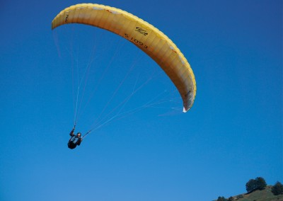 James Graf photo paragliding