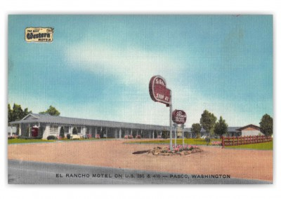 Pasco Washington El Rancho Motel