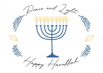 Peace and Light - Happy Hanukkah
