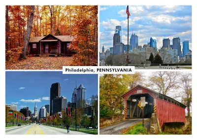 Photocollage Pennsylvanie