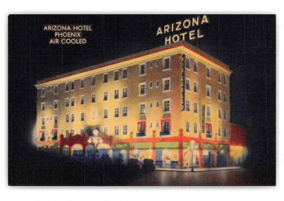 Phoenix Arizona Arizona Hotel at Night