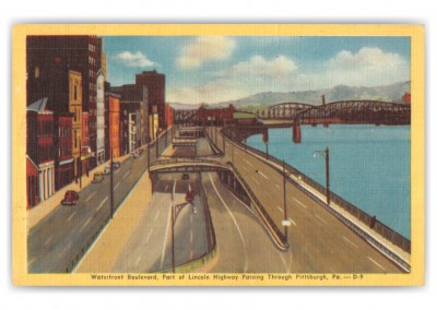 Pittsburgh, Pennsylvania, Waterfront Boulevard