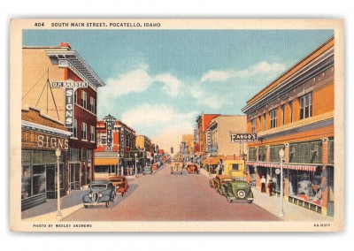 pocatello, Idaho, SOuth Main Street