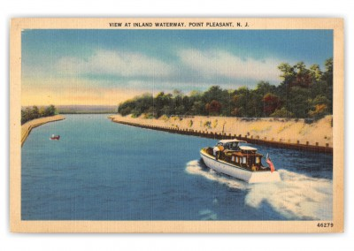 Point Pleasant, New Jersey, View at Inland Waterway