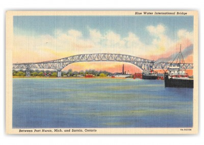 Port Huron, Michigan, Blue Water International Bridge