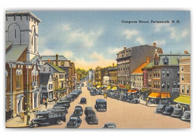 Portsmouth, New Hampshire, Congress Street