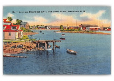 Portsmouth, New Hampshire, Navy Yard and Piscataqua River