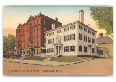 Portsmouth, New Hampshire, Rockingham Hotel and Annex