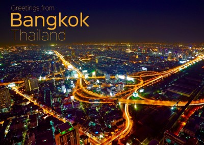 Photo of Bangkok, Thailand by night