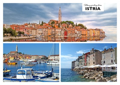 panoramic photocollage of istria