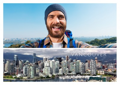 Vancouver panoramic photo