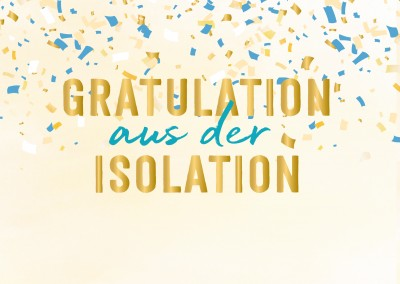 GREETING ARTS – Gratulation aus der Isolation