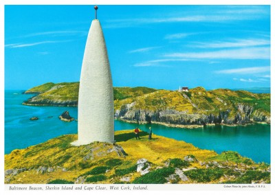 Baltimore Beacon, Sherkin Island and Cape Clear, West Cork, Irland