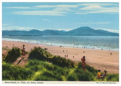 The John Hinde Archive Foto Banna Strand, Kerry, Ireland