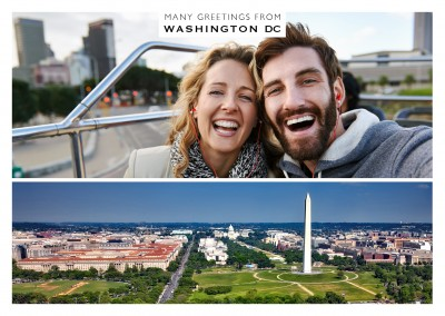 panoramafoto von washington d.c.