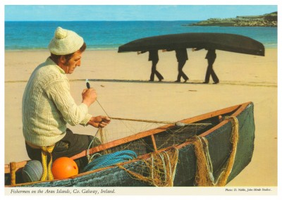 The John Hinde Archive Foto Fisherman on the Aran Island, Ireland