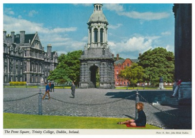 The John Hinde Archive Foto The Front Square, Trinity College, Dublin, Ireland