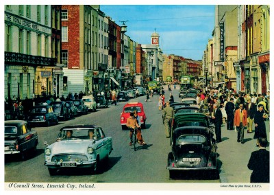 The John Hinde Archive Foto O'Connell Street, Limerick City