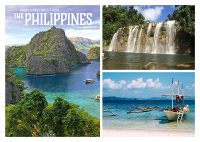 Philippinen Foto Collage