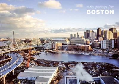 foto von boston Skyline