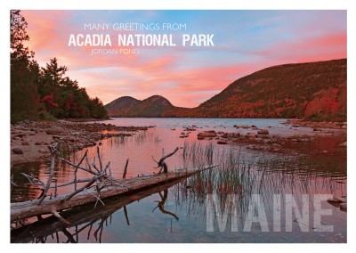 foto von acadia nationalpark jordan pond in maine usa