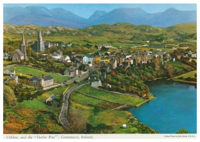 The John Hinde Archive Foto Clifden and the Twelve Pins, Connemara