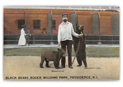 Providence, Rhode Island, Black BEars, Roger WIlliams Park