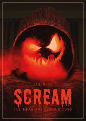 quote card  The next scream you hear may be your own