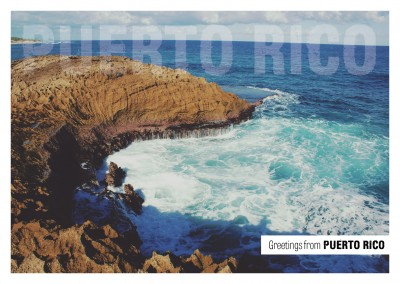 Photo rocky bay Puerto Rico