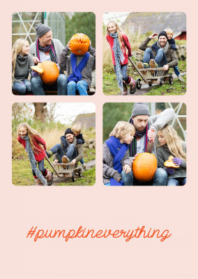 Hashtag #pumpkineverything