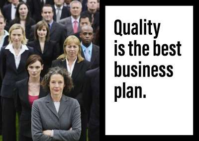 Quote Quality is the best business plan