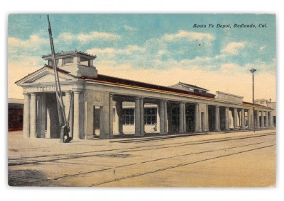 Redlands California Santa Fe Depot
