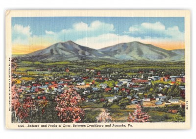 Roanoke, Virginia, Bedford adn Peaks of Otter