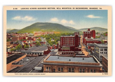 Roanoke, Virginia, Business Section