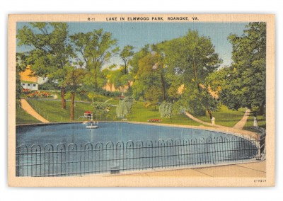 Roanoke, Virginia, Lake in Elmwood Park
