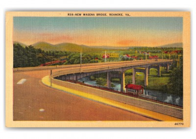 Roanoke, Virginia, New Wasena Bridge