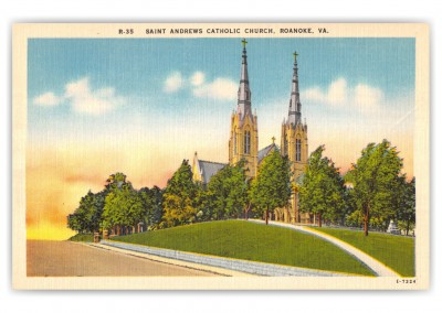 Roanoke, Virginia, Saint Andrews Catholic Church