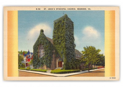 Roanoke, Virginia, St. Johns Episcopal Church