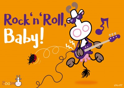Rock en Roll baby! De CoolMoo