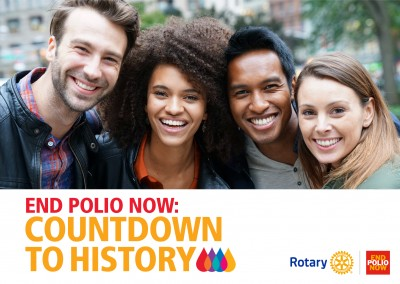 Countdown tot de geschiedenis – End polio now