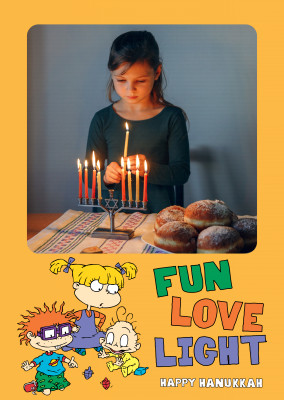 Rugrats - FUN LOVE LIGHT - Happy Hanukkah