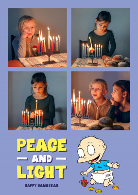 Rugrats - Peace and Light - Happy Hanukkah