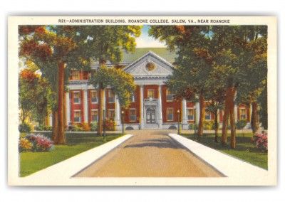 Salem, Virginia, Administration Building, Roanoke College