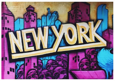 photo graffiti de Nueva york